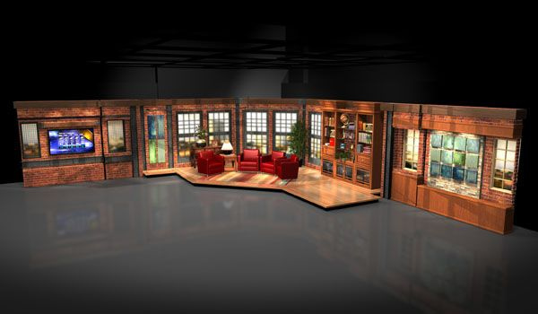 Talk show set design google search tv sets pinterest Home architecture tv show