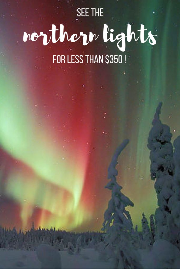 See the majestic Northern Lights in Abisko, Sweden for less than $350 - accommodations & flights from Stockholm included! Here's how