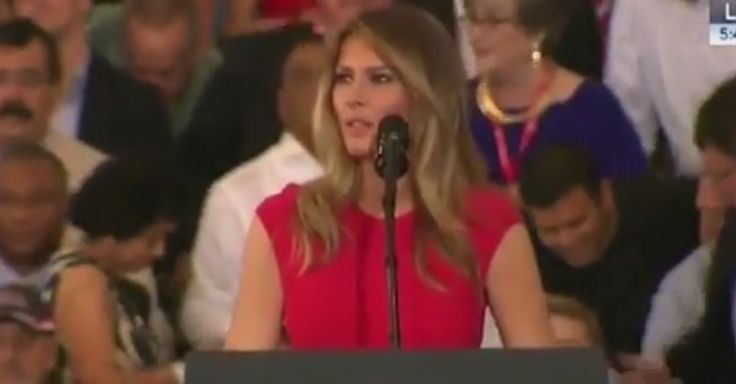 "Melania Trump gave a passionate speech defending her husband and outlining her commitment to ""greater civility and unity"""