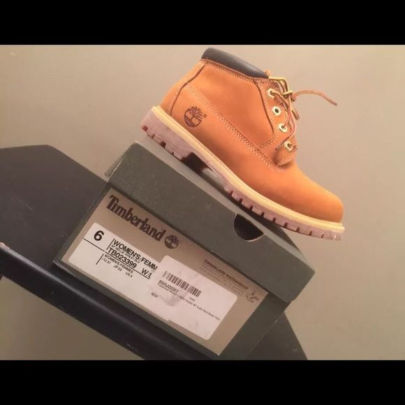 Timberland Nellie boots for women Timberland Nellie boots in Wheat size 6 C/D. NEVER WORN! Got them as a holiday gift and thy were too big, so they stayed in the box Timberland Shoes Ankle Boots & Booties