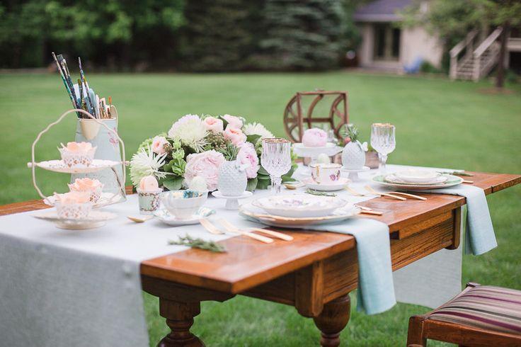 Photography: Rhythm Photography - www.rhythm-photography.com  Read More: http://www.stylemepretty.com/canada-weddings/2014/07/17/garden-wedding-inspiration-at-pathways-to-perennials/