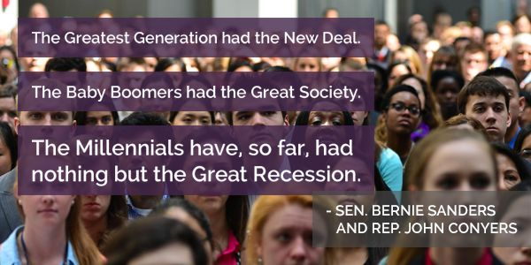 The Greatest Generation vs Boomers vs Millennials ... on the move!
