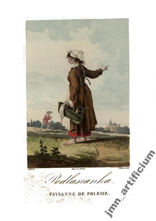 PODLASIANKA Stroje Polskie Norblin 1817r.