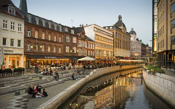 """2. Aarhus, Dinamarca: conhecida como a """"The world's smallest big city"""", é uma alternativa a capital Copenhague."""