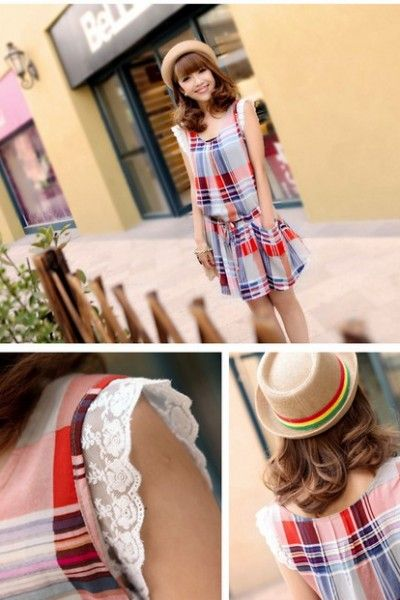 Baju Import Dress DS3123-AS