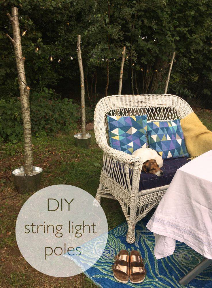 17 best images about craft tutorials and patterns on for Diy outdoor string lights