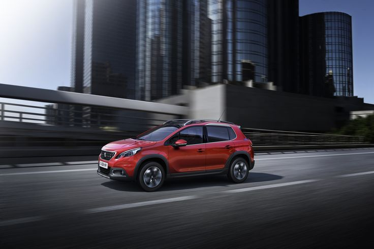 The introduction of new vibrant paint finishes, including Ultimate Red, will ensure real road-presence for the New Peugeot 2008 SUV.