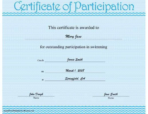 34 best WeCWI Board images on Pinterest Certificate, 21st - printable certificate of participation