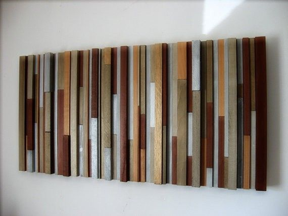 20 best images about wall sculpture on pinterest diy for Diy contemporary art