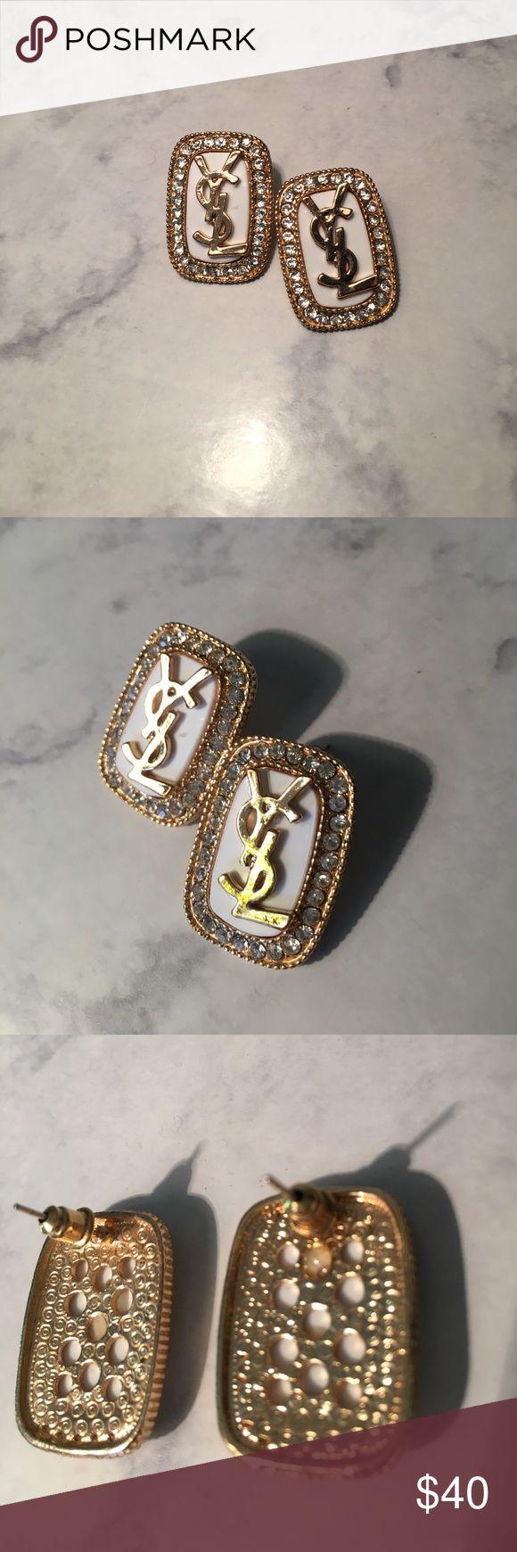 YSL costume jewelry earrings YSL costume jewelry earrings. Jewelry Earrings