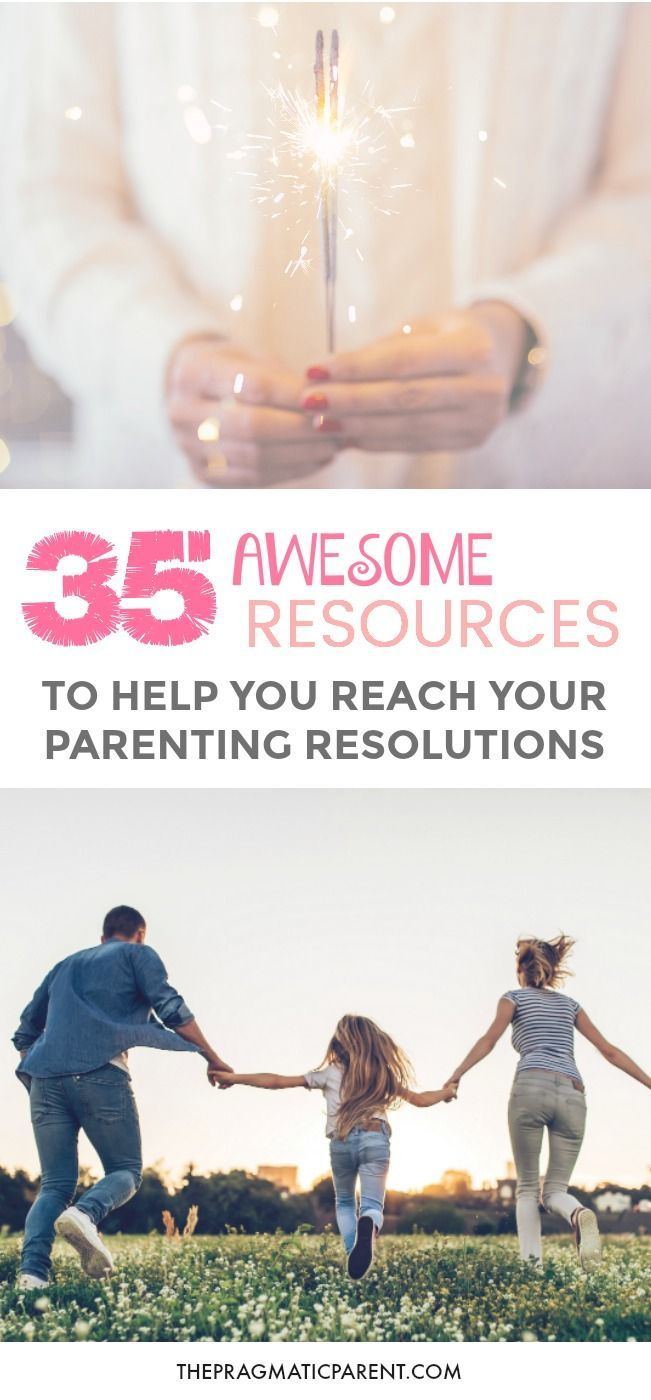 Parents, Let's Rock the New Year! 35 Awesome Resources to Help You Reach Your Parenting Resolutions. Happy Parents = Happy Family. Crush your goals and New Years Resolutions, big and small! Set and stick to your positive parenting resolutions.