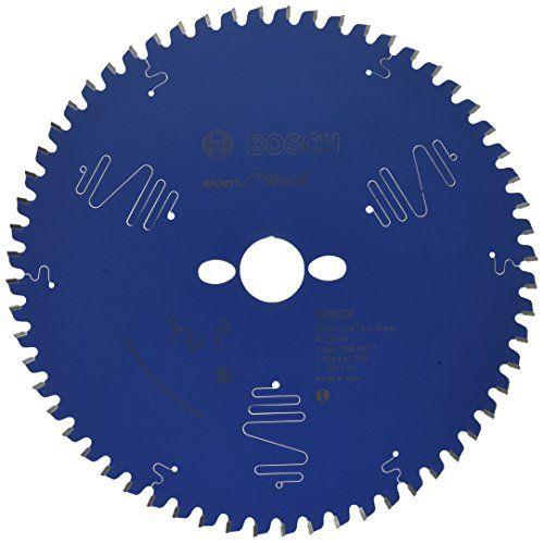 Bosch 2608642530 Lame de scie circulaire expert for wood: Spécification : 254 x 30 x 2,4 mm, 60 Diamètre extérieur : 254 mm Pays d'origine…