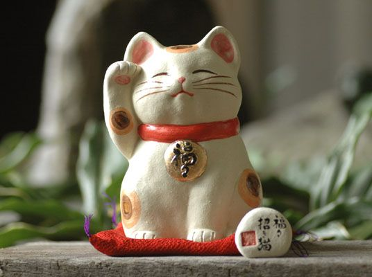 Maneki-neko(Lucky cat)