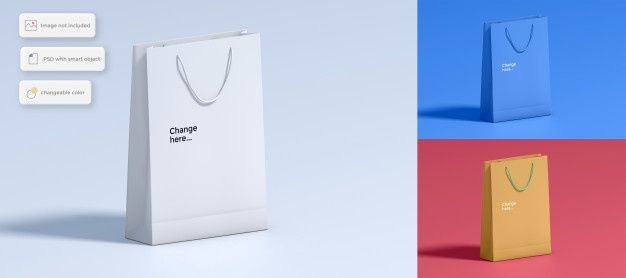 570+ Shopping Bag Mockup Freepik Mockups Builder