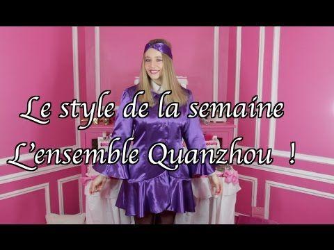 """L' ensemble  Quanzhou """"By Capucine Ackermann"""" 🎀 😃"""