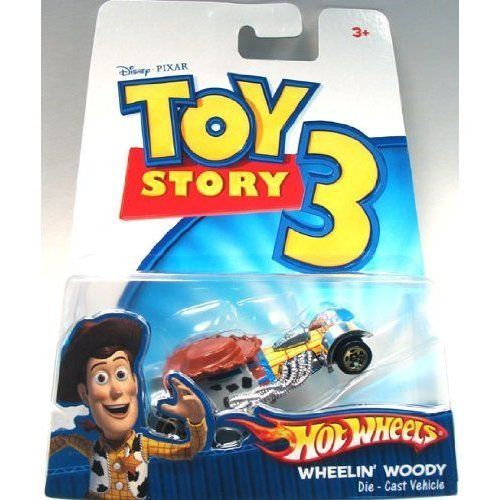 Disney / Pixar Toy Story 3 Hot Wheels Die Cast Vehicle Wheelin Woody @ niftywarehouse.com #NiftyWarehouse #Toy #Story #Movie #ToyStory #Pixar