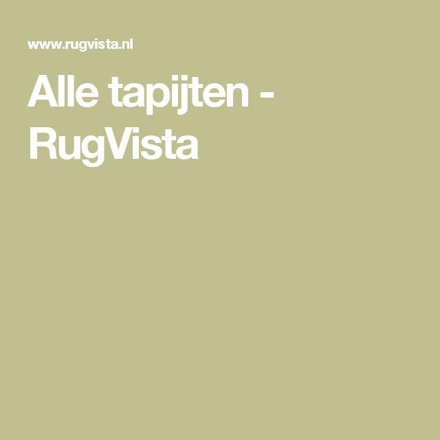 Alle tapijten - RugVista