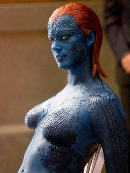 Mystique from the X-Men movies