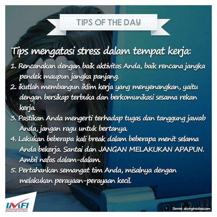 Selamat pagi Sahabat IMFI! Semoga tips berikut ini bermanfaat ya untuk kita semua.. Selamat beraktivitas :) #tips #TipsOfTheDay #indonesia #indomobilfinance