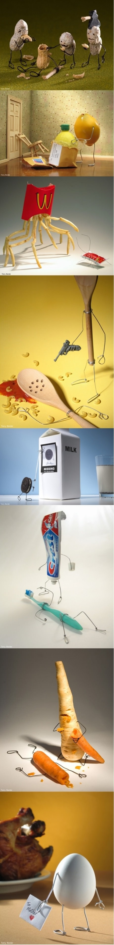 Even inanimate objects can go mad sometimes...