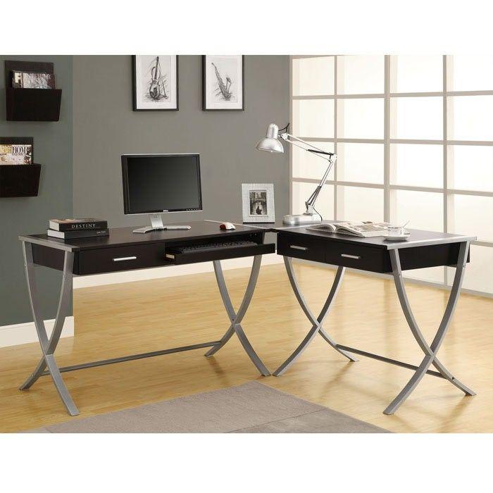 Minimalist Luxury Modern Unique Desks With Simple Lines: Awesome Luxury  Modern Unique Desks Small Space · Home Office ...