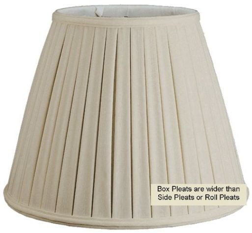 8 best pleated lamp shade images on pinterest lamp shades box pleated lamp shade cream white 8 18w aloadofball Images