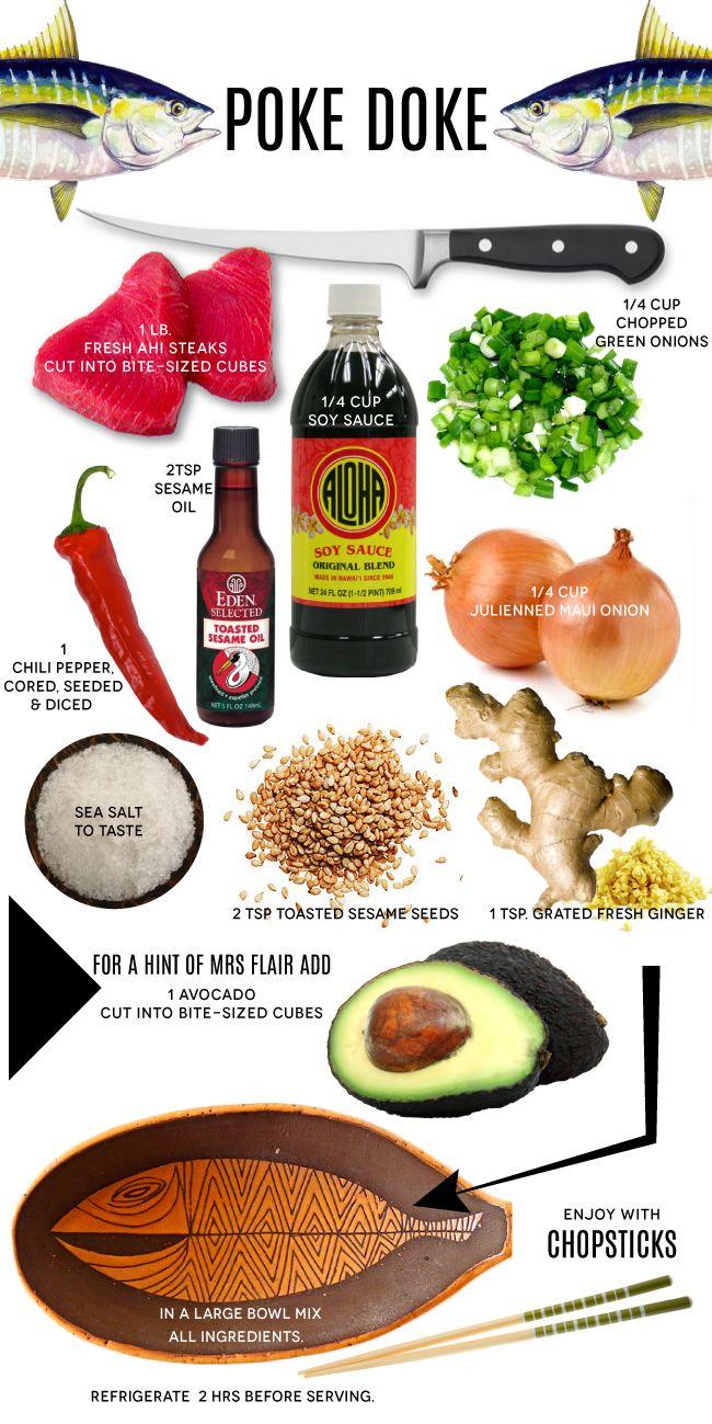 Poke Doke / an Authentic Hawaiian Recipe — Mrs. Lilien
