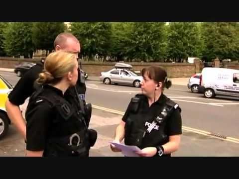 Traffic Cops PC Shona Gillen Taser arrest