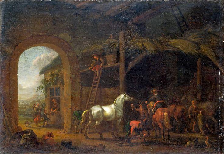Abraham van Calraet (1642 - 1722). Интерьер;. 1690. Лондонская национальная галерея