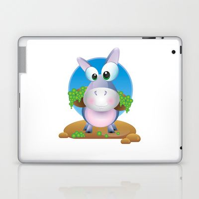 Dunny Donkey Laptop & iPad Skin by MargoLand - $25.00