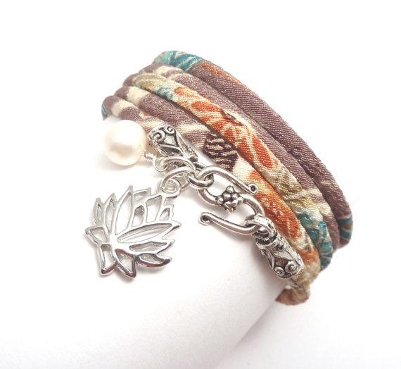 Chirimen cord bracelet