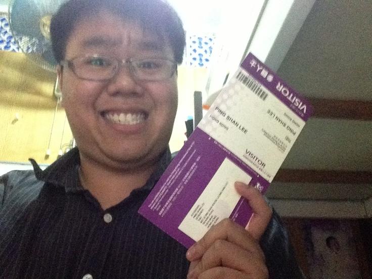 Yeahhhhhh I got the ticket