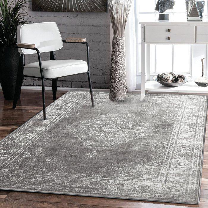 Alexia Grey Rug Teppich Grau Teppich Wohnzimmer Wohnzimmer Teppich