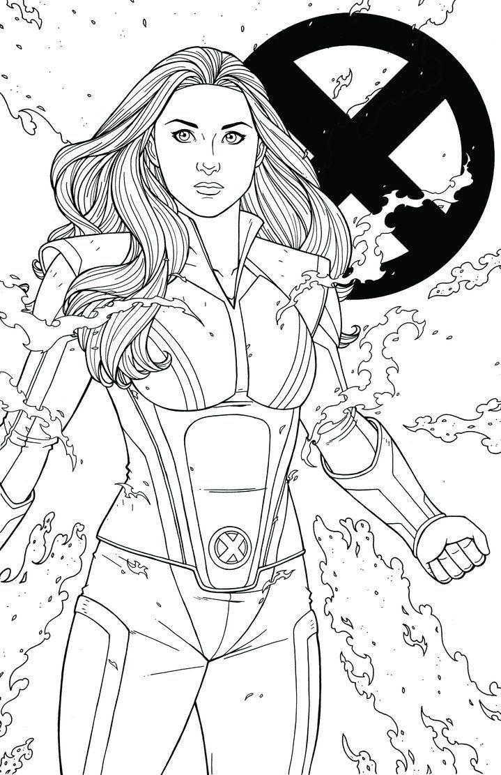 X Men Para Colorir Colorir Personagens De Inspiracao Marvel