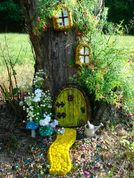 Hey, I found this really awesome Etsy listing at https://www.etsy.com/listing/220046031/fairy-door-fairy-garden-door-outside