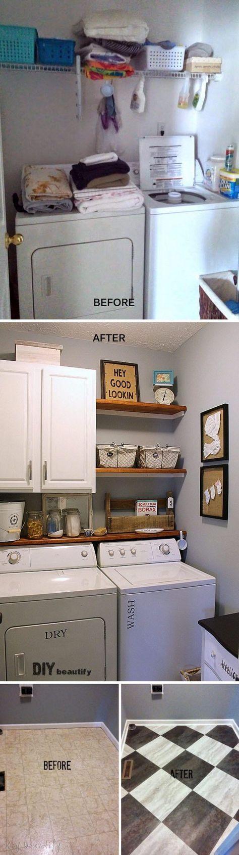 Farmhouse Modern Laundry Room Reveal.