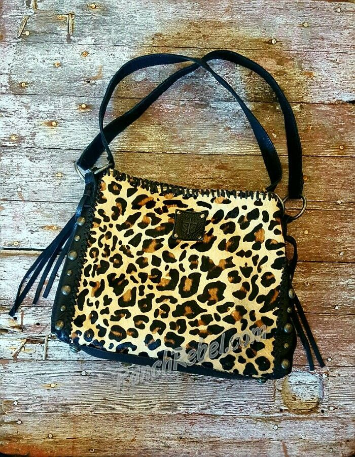 STS Leopard Maggie Mae Bag #1622