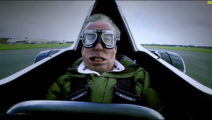 Jeremy Clarkson's face on the Mono Cosworth. #TopGear #Cosworth