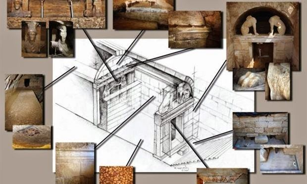 Amphipolis - Archaeologists Get Closer To Tomb, Discover Architrave Fragments of Ionic Order (Pics VIDEO) ~ HellasFrappe