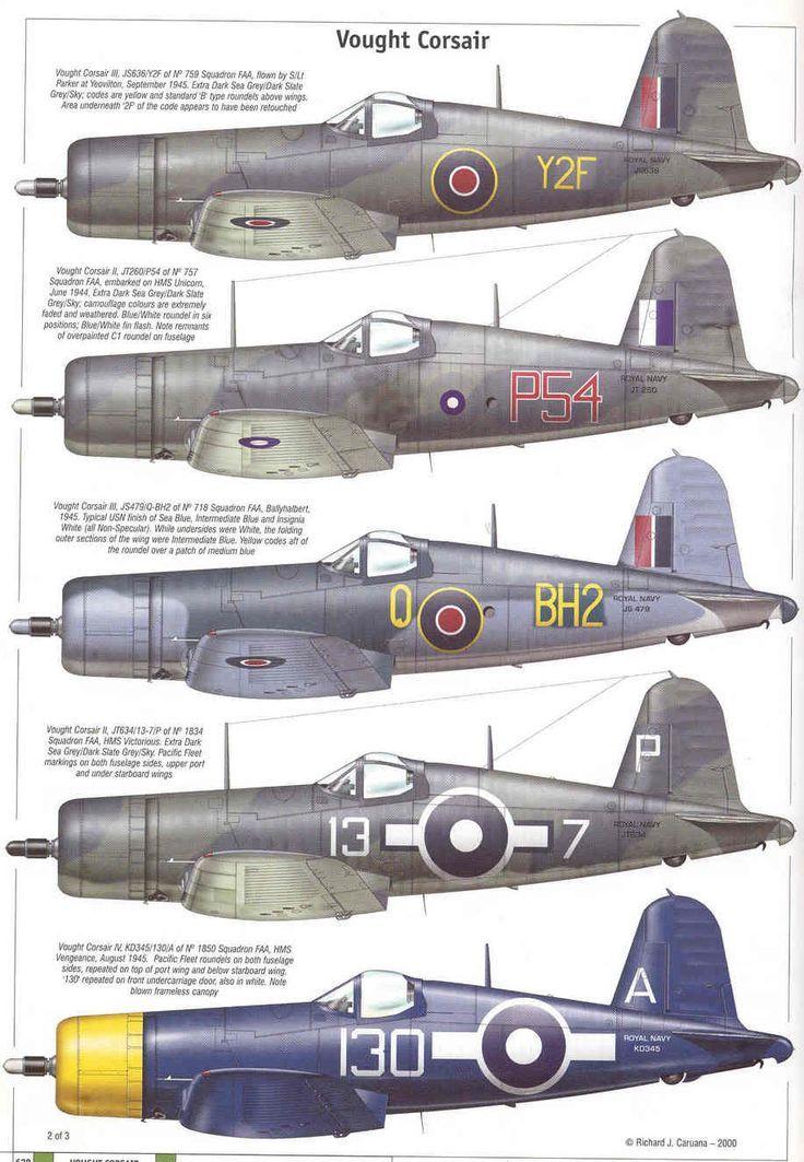 Corsair's fleet arms