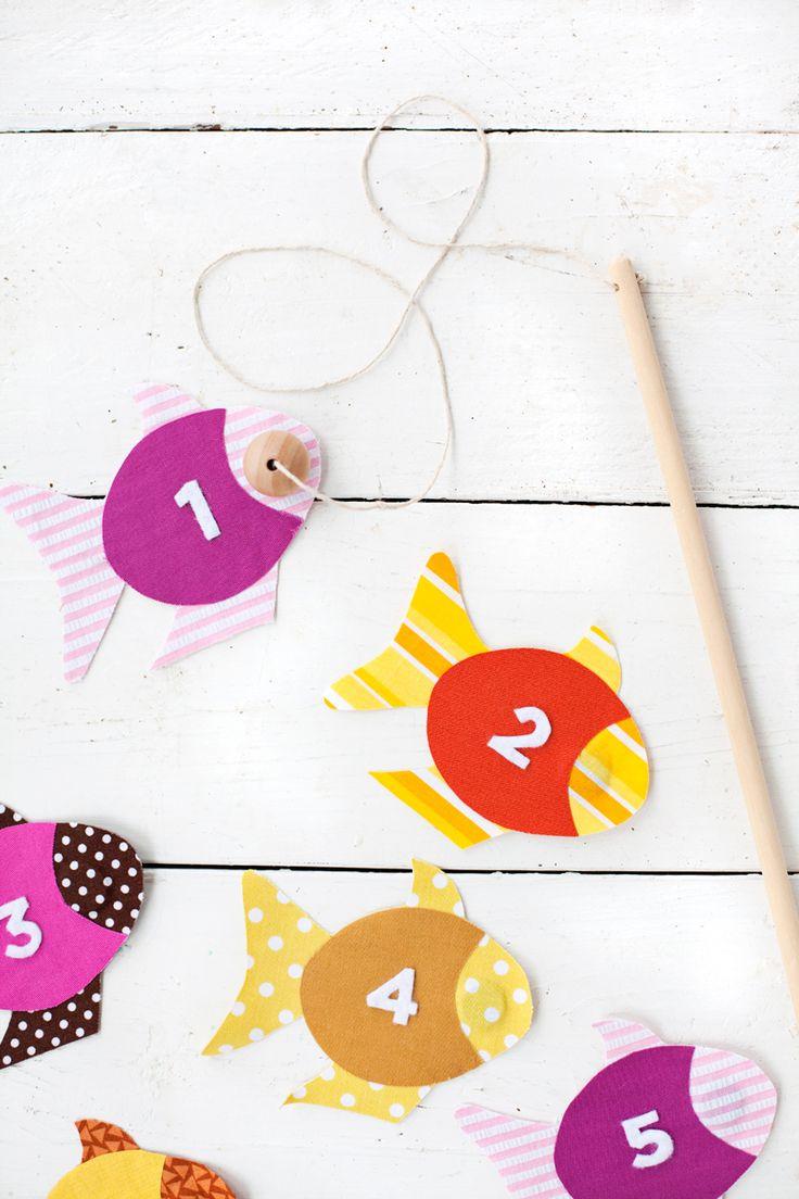 子供が大喜びで遊んでくれる♪フェルトとはぎれ布の魚釣りゲームの作り方 | CRASIA(クラシア)