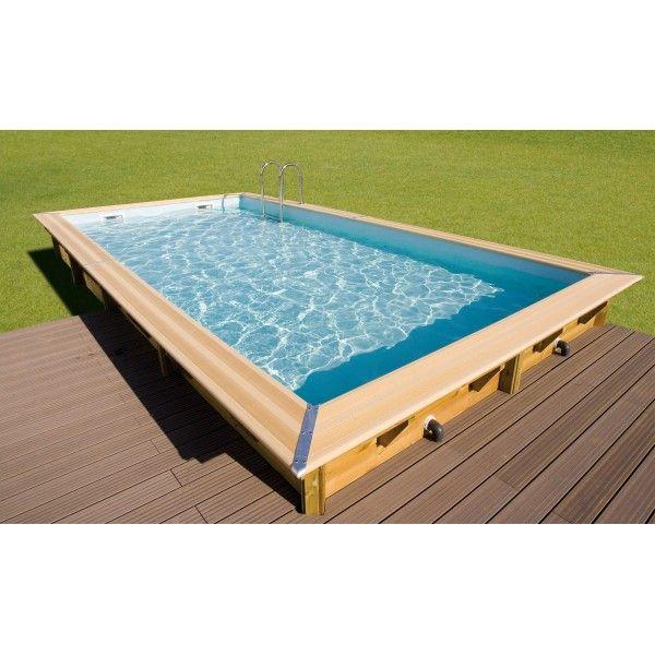 piscine bois 4 x 3