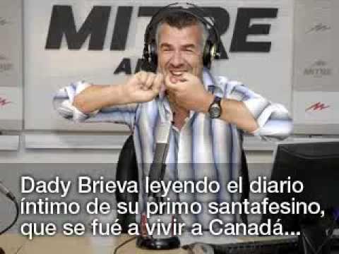Dady Brieva - Diario intimo del primo en Canada