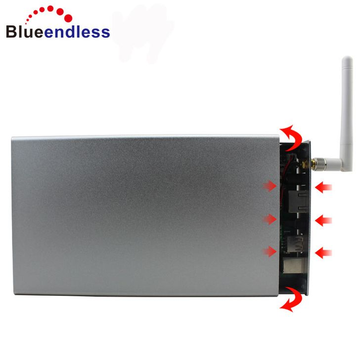 Blueendless New products hdd box usb 3.0 to sata with wifi hdd enclosure cases 3.5'' With Wireless Wifi Router hot