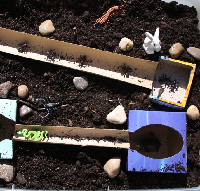 Underground Animals Small World Play