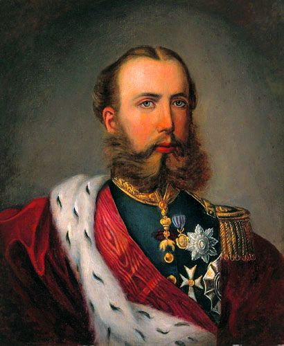 Emperador Maximiliano I de Mexico de la casa Habsburgo-Lorena