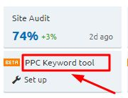 Step-by-step instructions to use the best PPC keyword tool on the market !