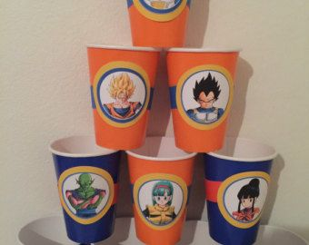 54 best dragon ball z birthday images on pinterest for Decoration dragon ball