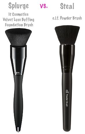 Beauty Splurge vs. Steal: Makeup Brushes