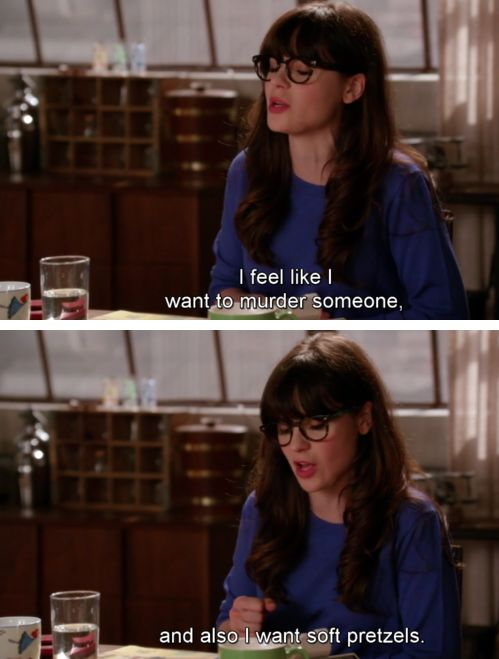 Zoey Deschanel. I think she is channeling Me